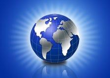 globe 3d Image stock