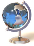 Globe. 3d Very beautiful three-dimensional illustration, figure Stock Image