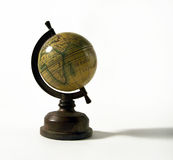 Globe. Little globe over white Stock Images