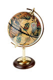 Globe. Old fashioned globe: travel, object royalty free stock image