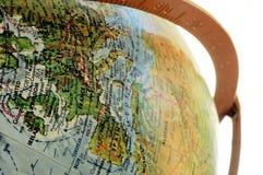 Globe. Europe side stock photos