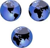 globe illustration stock
