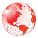 Globe. Computer generated digital globe like background Stock Image