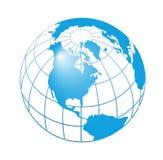 Globe. Computer generated digital globe like background royalty free illustration