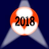 Globe 2018 Photos libres de droits