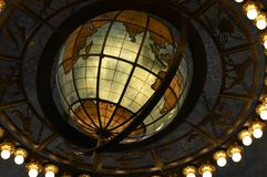 Globe. Chandellier Royalty Free Stock Photography
