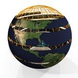Globe. Frame Stock Photography