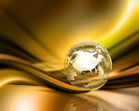 Globe abstract Royalty Free Stock Images