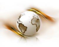 Globe abstrait illustration de vecteur