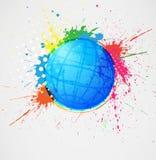 Globe abstrait Photographie stock