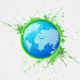 Globe abstrait Image libre de droits