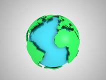 Globe abstrait Photo libre de droits