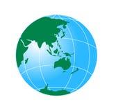 Globe affichant l'Asie et austral illustration libre de droits
