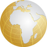 Globe Africa Royalty Free Stock Photo
