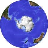 Globe, allégement ombragé Image libre de droits