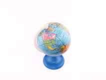 Globe (America). On the white background Royalty Free Stock Image