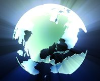 Globe Americas Royalty Free Stock Image