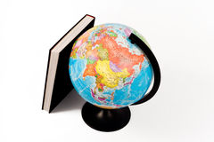 Globe And Book Royalty Free Stock Photos