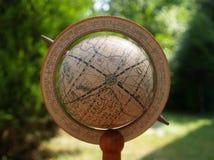 Globe antique Image libre de droits