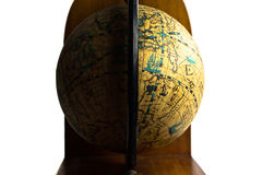 Globe antique photographie stock