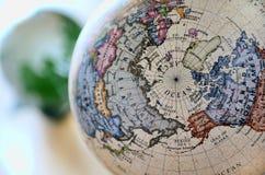 Globe (Arctic Ocean) Royalty Free Stock Image