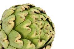 Globe Artichoke. Closeup of the tight thorned scales of a globe artichoke Stock Image