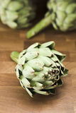 Globe artichokes Stock Photo