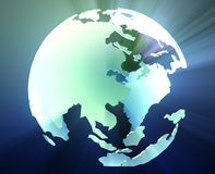 Globe Asia Pacific Royalty Free Stock Images