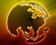 Globe Asia Pacific Stock Image