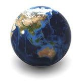 Globe Australia / Japan Royalty Free Stock Images