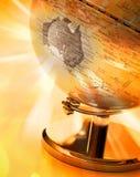 Globe Australia Map Royalty Free Stock Photography
