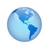 Globe avec Image stock