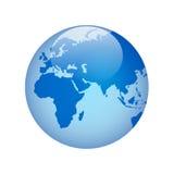 Globe avec Photo libre de droits