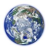 Globe avec la petite aura illustration stock