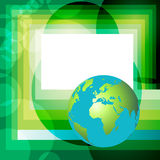 Globe background Royalty Free Stock Photos