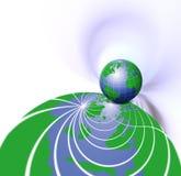Globe Background stock illustration