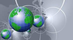 Globe Background Stock Images