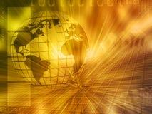 Globe background Stock Photography