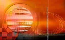 Globe background Stock Photos