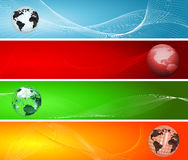 Globe backgrounds Royalty Free Stock Image