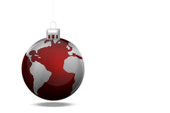 Globe Bauble Royalty Free Stock Photo