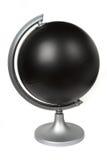 Globe blanc noir Photo libre de droits