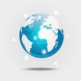 Globe blue Royalty Free Stock Image