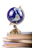 Globe on books Royalty Free Stock Photography