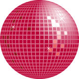 Globe brillant de disco Photographie stock