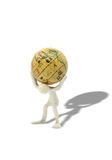 Globe Burden Royalty Free Stock Image