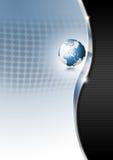 Globe Business Background Stock Photo