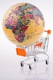 Globe on a Cart Royalty Free Stock Photos
