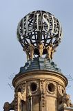 Globe on coliseum London Stock Images