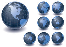Globe Collection Royalty Free Stock Images